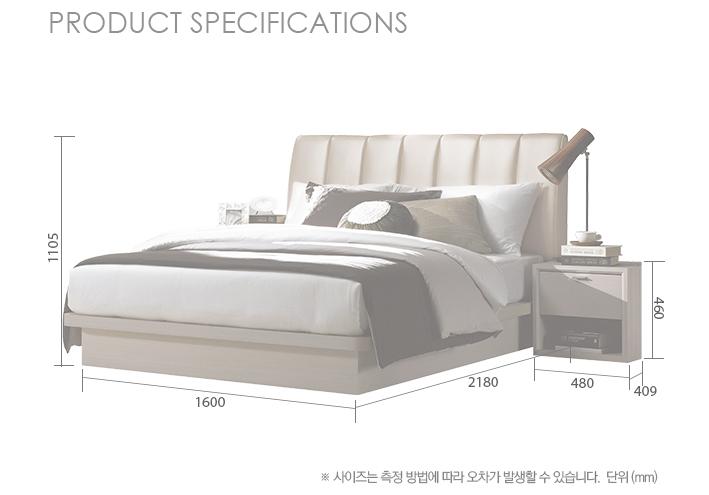 Giường ngủ 1.8M Bonnete