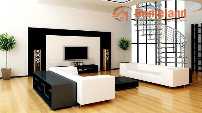 Bố trí sofa phòng khách cực đẹp với 4 nguyên tắc đơn giản
