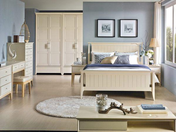 bộ phòng ngủ Daily White